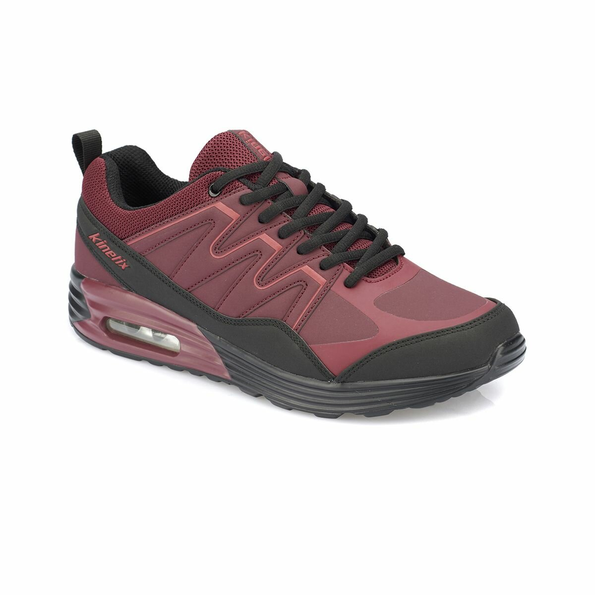 FLO ARBOR Burgundy Men 'S Sneaker Shoes KINETIX