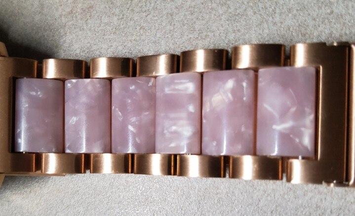 -- stainless ceramic pulseira