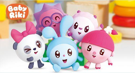 【早教】儿童动画片/瑞奇宝宝 BabyRiki 一二季104集/百度网盘免费下载/MP4