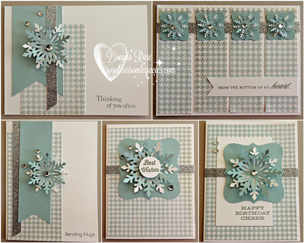 Snowflake Card Kit