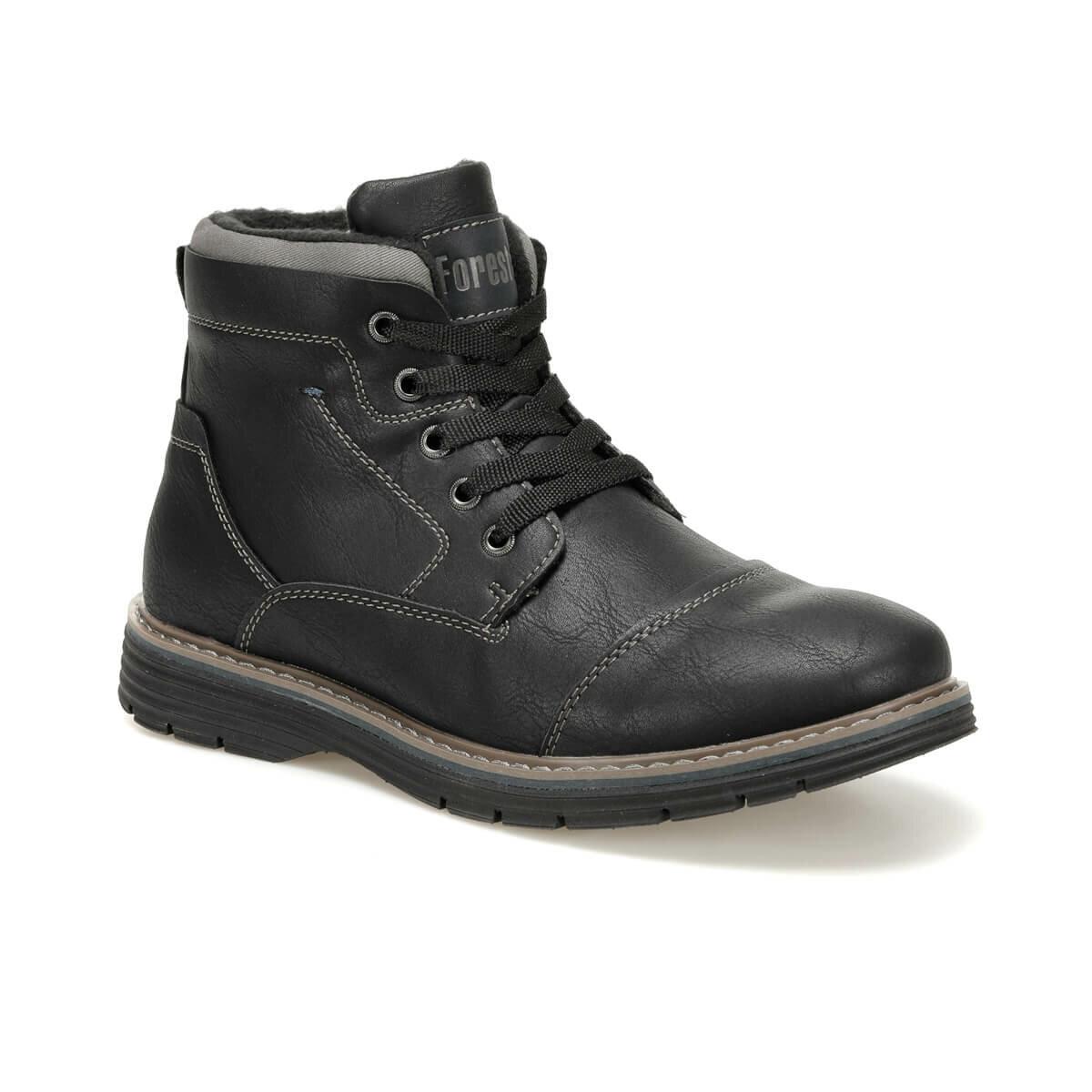FLO SD9899-4 Black Men Boots Forester