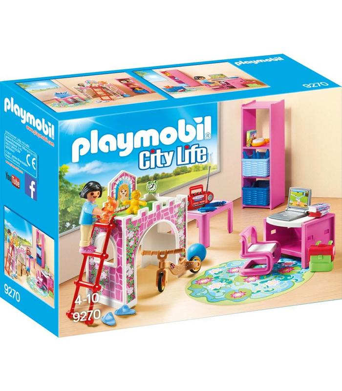 PLAYMOBIL 9270 Children 'S Room Toy Store Articles Created Handbook