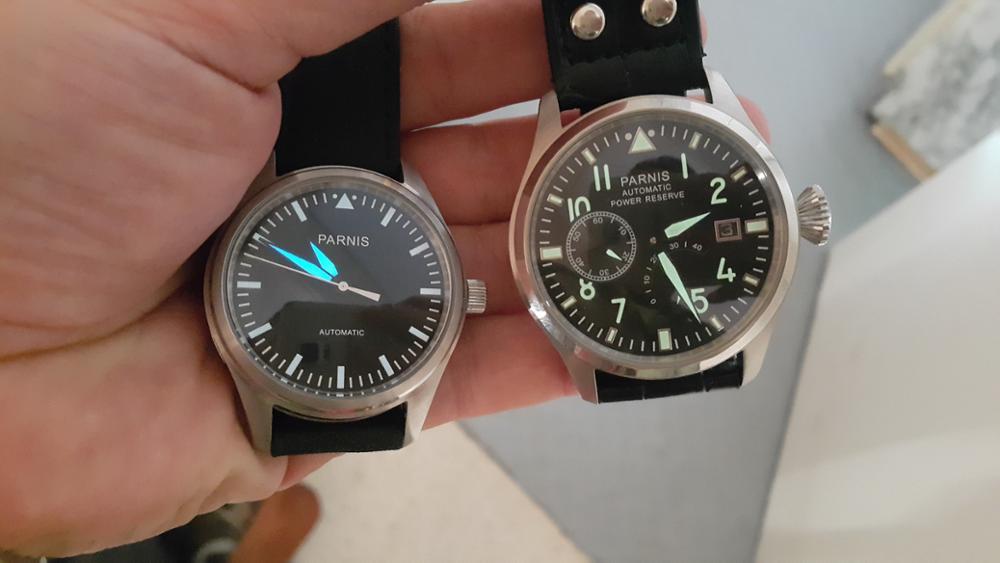 Relógios mecânicos mecânicos mecânicos reserva