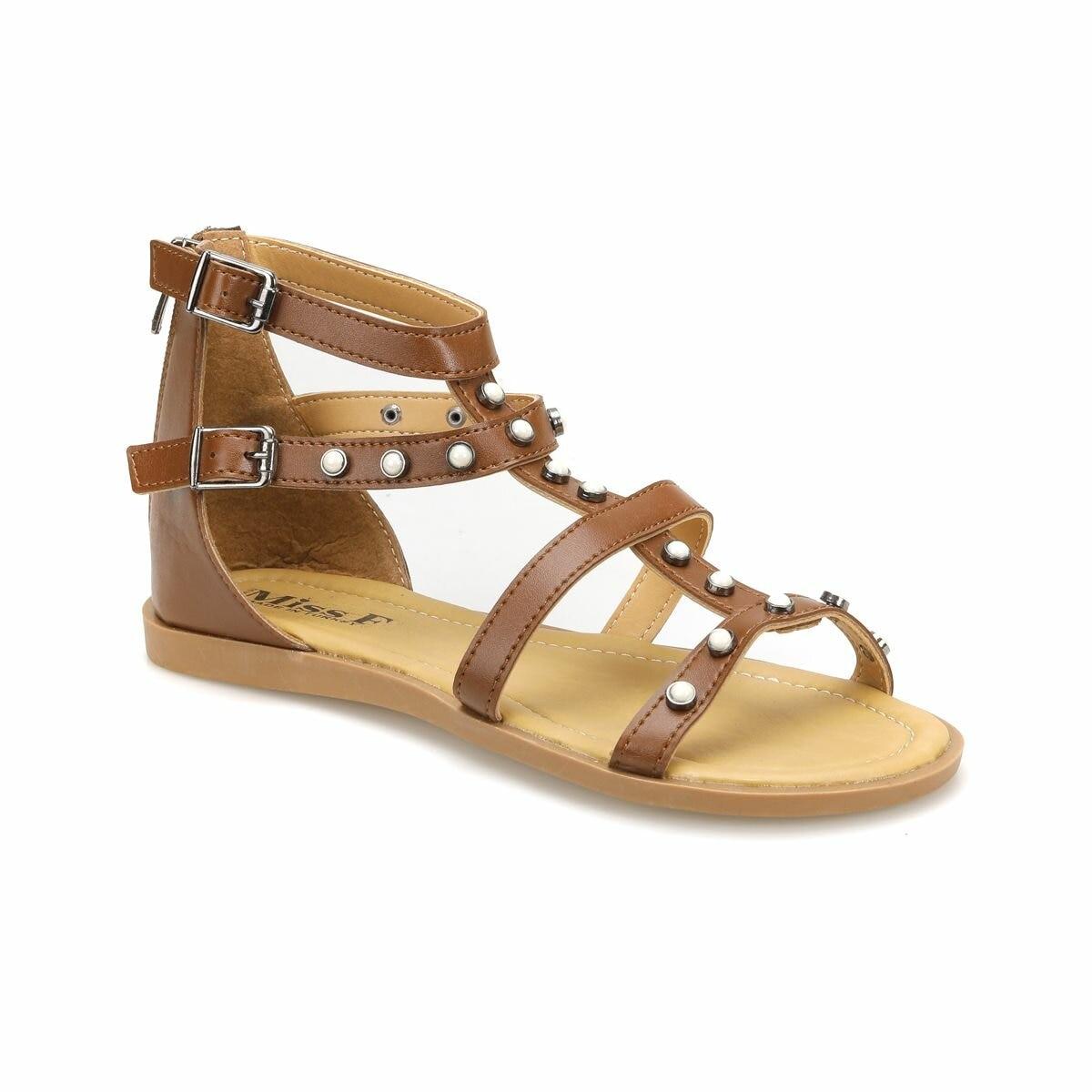 FLO DS18061 Tan Women 'S Dress Shoes Miss F