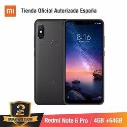 [Wersja globalna dla hiszpanii] Xiaomi Redmi Note 6 Pro (pamięci wewnętrzne de 64 GB, pamięci RAM de 4 GB, Cuatro camaras con IA) Smartphone 1