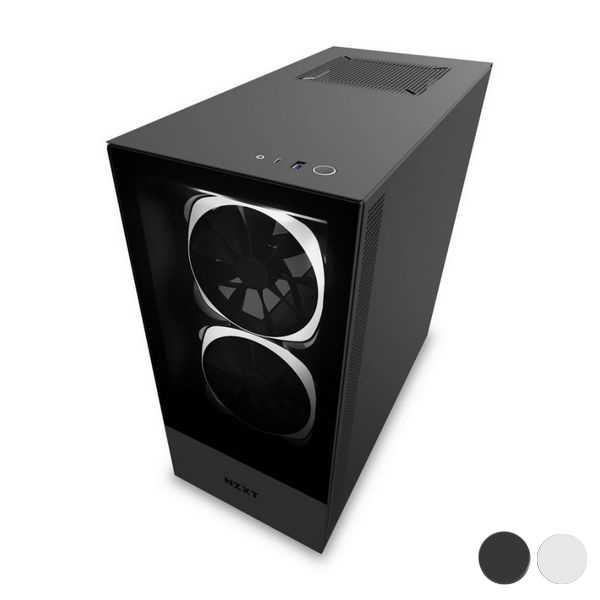 Micro Atx Mini Itx Atx Midtower Case Nzxt H510 Elite Led Rgb Computer Cases Towers Aliexpress