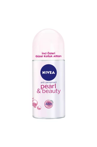 Nivea Pearl & Beauty - Kadın Deodorant Roll-On 50 Ml