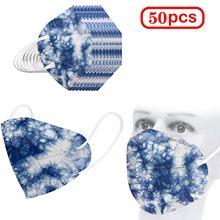 Masque fpp2 pour adultes, protection faciale, Anti-poussière, 5 couches, KN95, FFP2