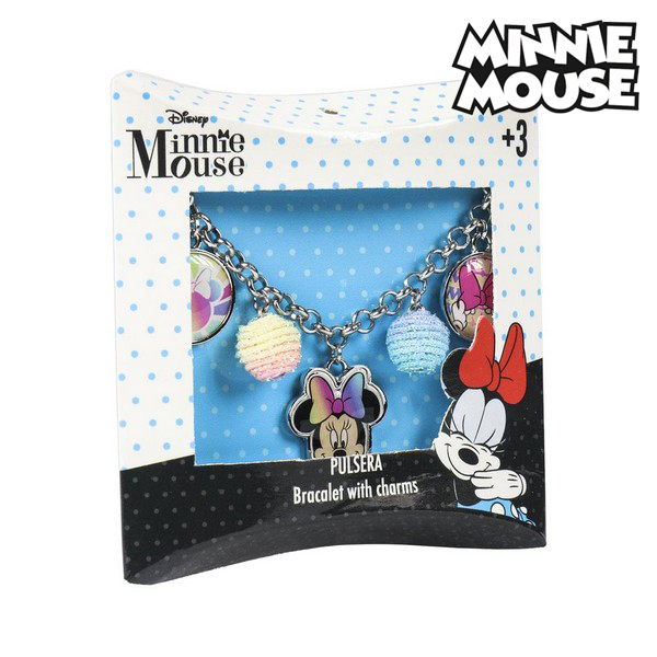 Girl's Bracelet Minnie Mouse 71336 Glass Beads