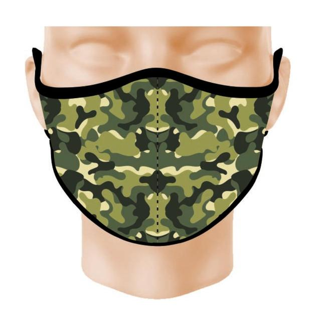 Face mask Neoprene Higienica Reusable Antivirus 3