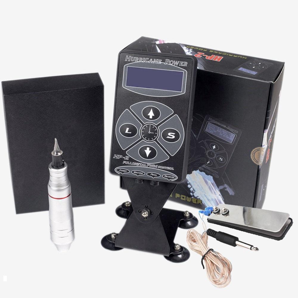 Biomaser complete tattoo machine kit professional intelligent digital tattoo makeup machine kit device Swiss motor Tattoo Sets