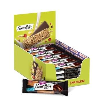 Protein bars-Double Chocolate in dark glaze, smartbar protein 40g., (25 PCs)