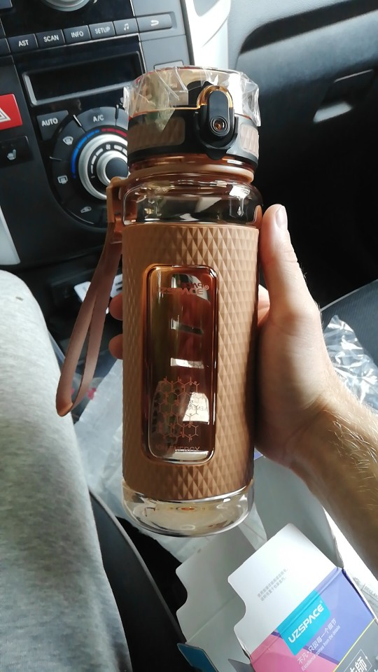 BPA Free Gym Water Bottle photo review