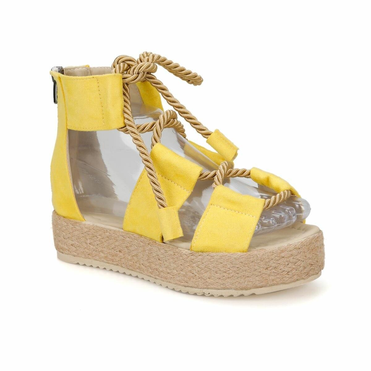 FLO SOLEY51Z Yellow Women 'S Sandals BUTIGO