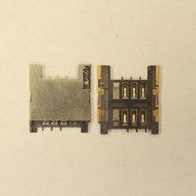 Коннектор SIM-карты(сим), mmc коннектор HTC A8181 Desire / A9191 Desire HD, G10,( S59