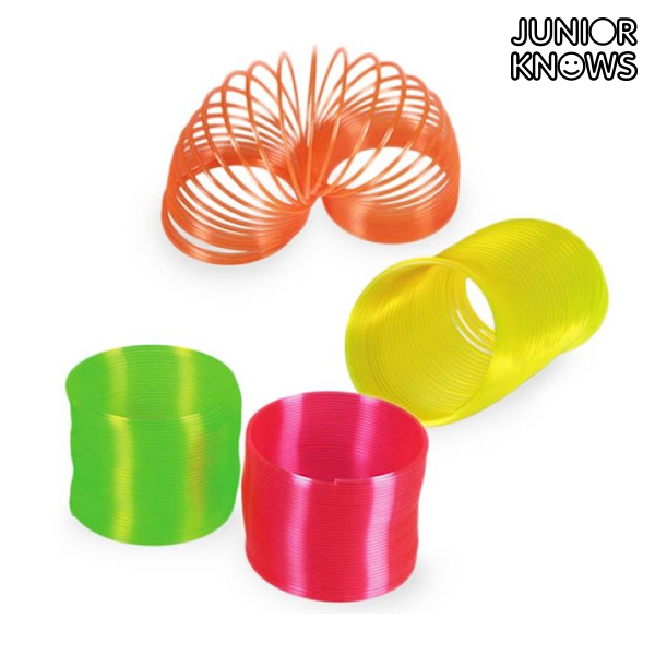 Plastic Neon Coil Toy