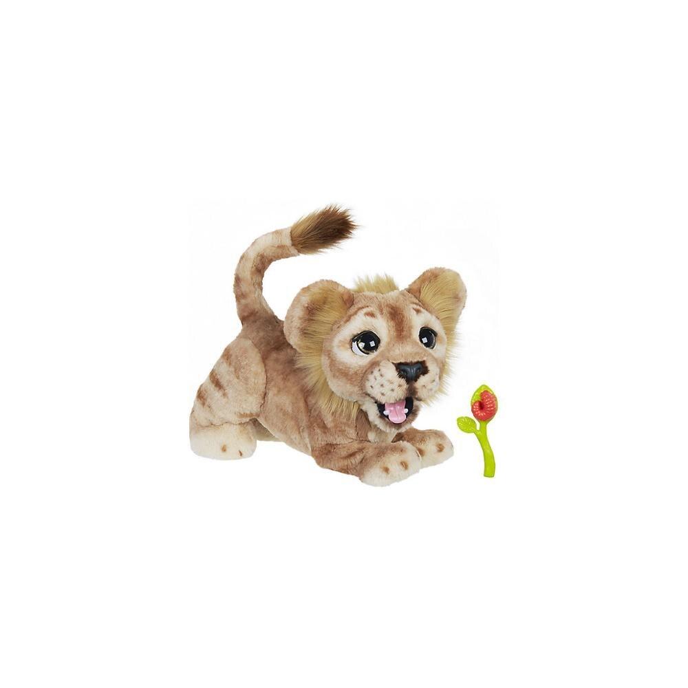 HASBRO électronique animaux 11162384 jouet interactif roi lion pour les enfants de garçons et de filles MTpromo