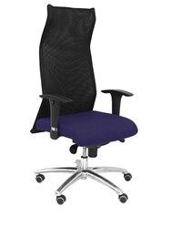 Cadeira ergonômica de direção com mecanismo de casa de sincro e regulável em alta altitude respaldo de malha respirável e assento t
