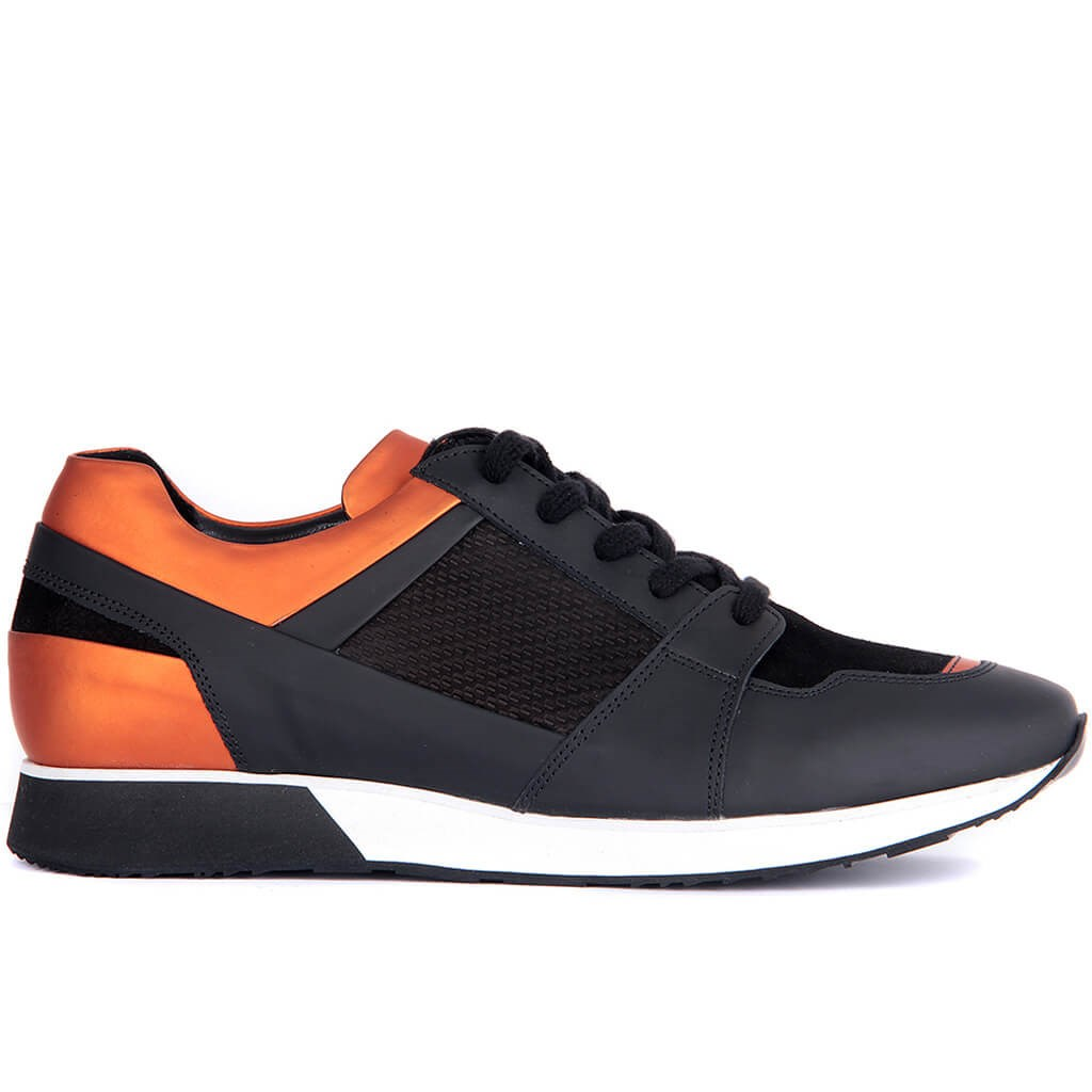 Sail Lakers-Genuine Leather Men Sneakers Casual Shoes Lace-up Male Shoes Comfortable Breathable Walking Outdoor Tenis Masculino Zapatillas Hombre Sapatos Adulto 2019 New Fashion