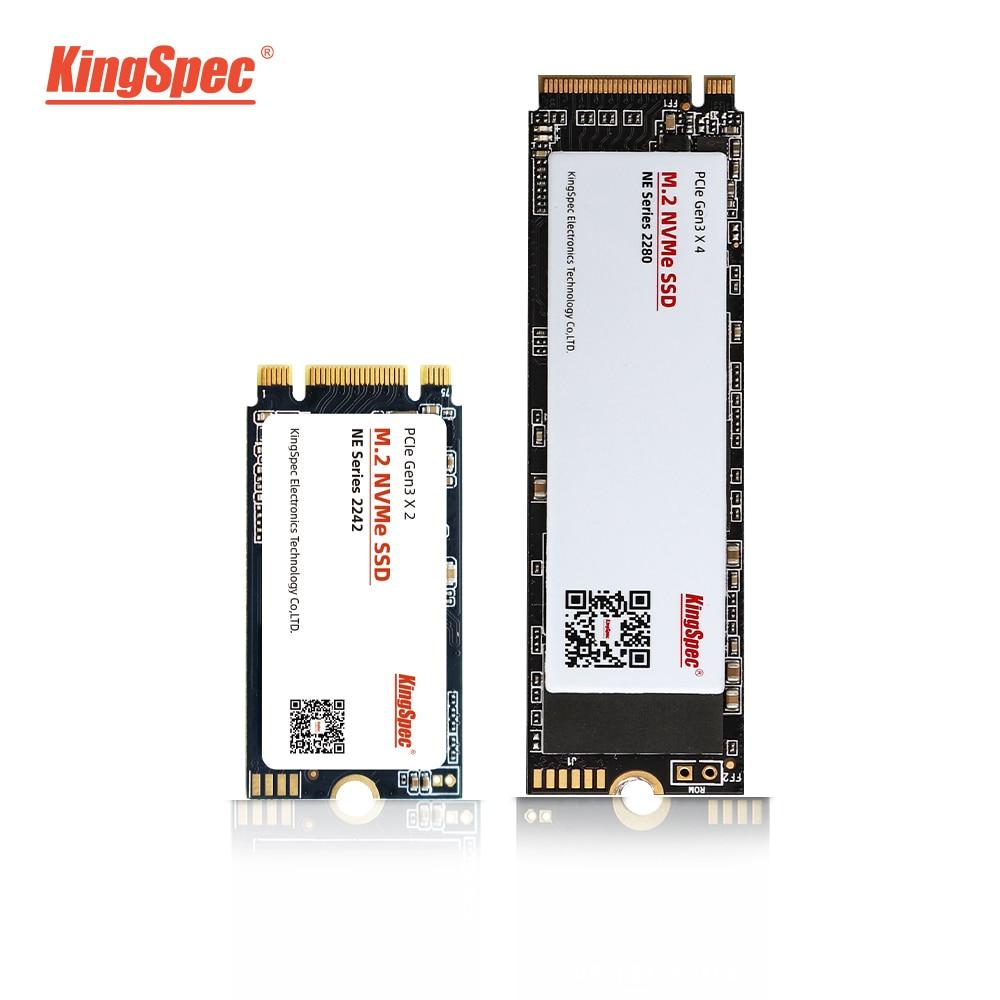 KingSpec M2 SSD PCIe 120GB 240GB 1tb ssd ssd m2 2242 NVMe SSD NGFF M.2 ssd 2280 PCIe NVMe Internal SSD Disk For Laptop Desktop(China)