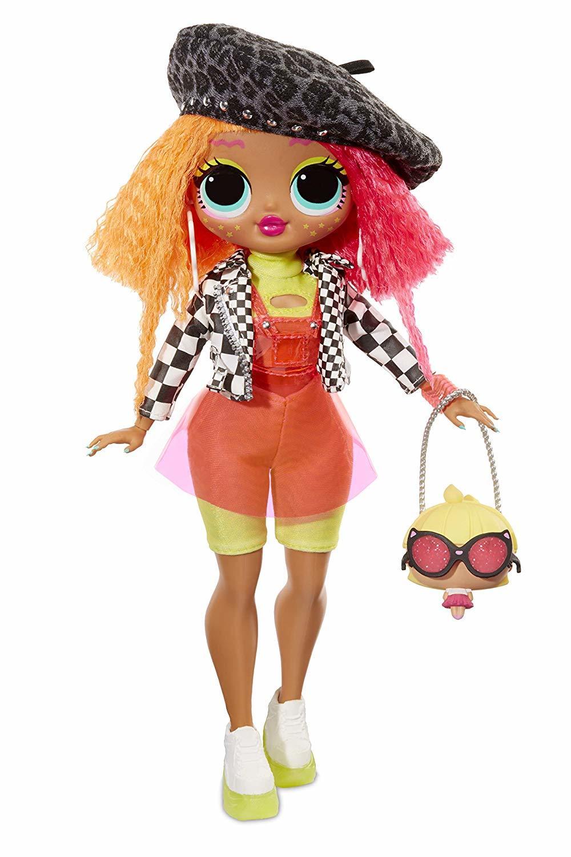 Doll L.O.L O.M.G. -Neonlicious (30 Cm)