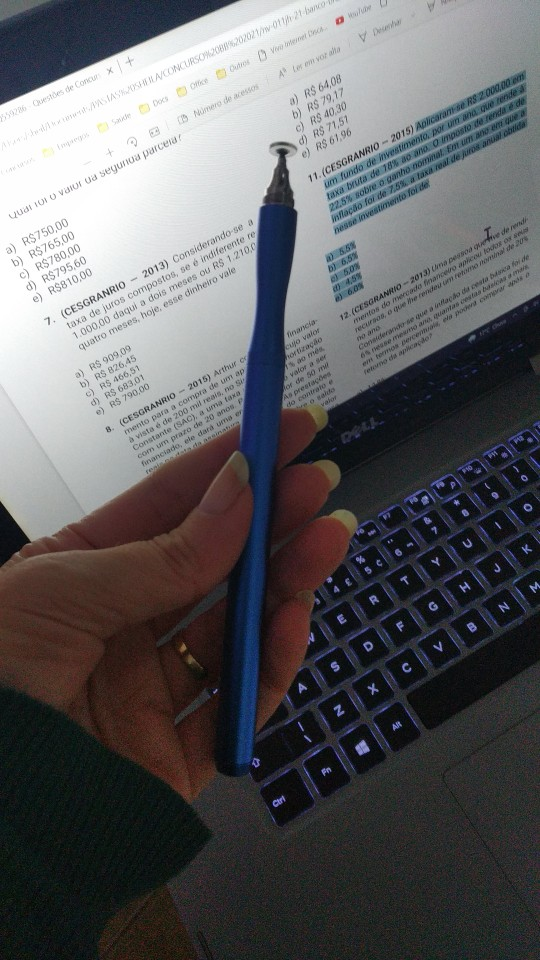 Universal Smartphone Pen For Stylus Android IOS or Windows photo review