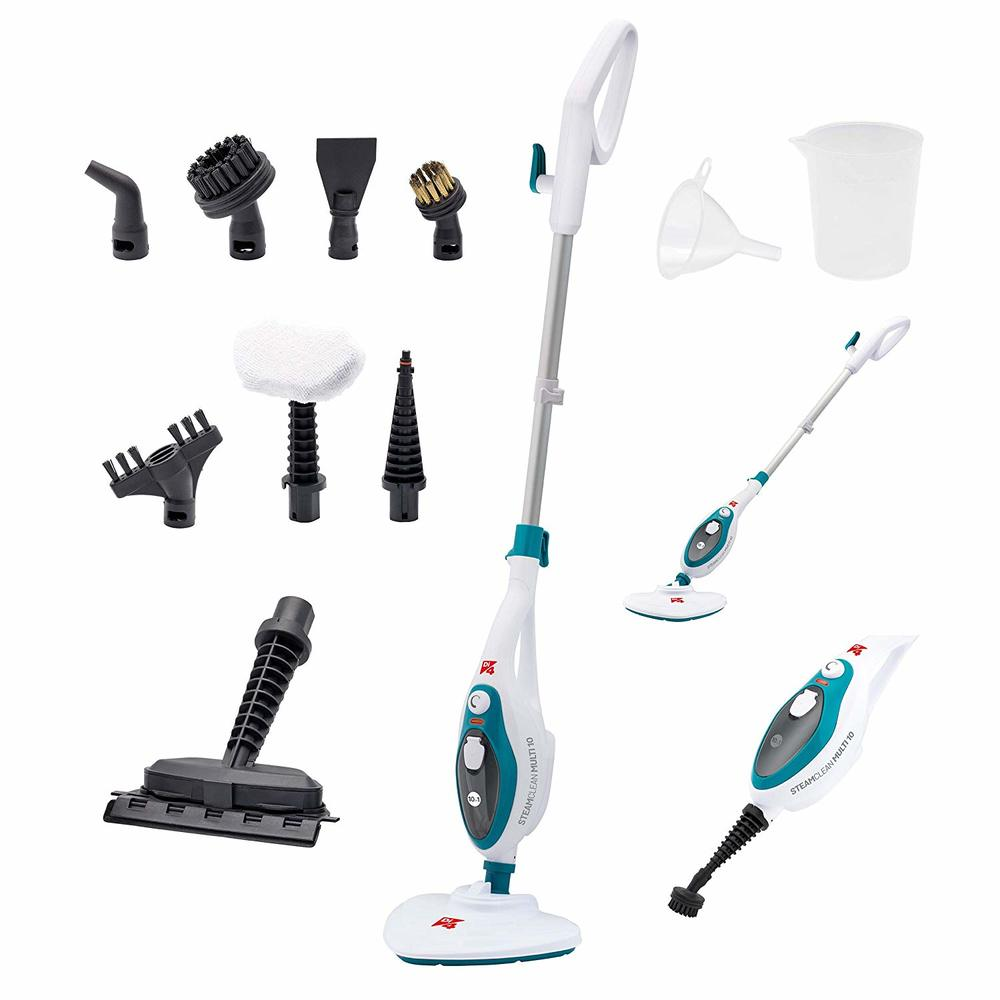 Di4 Steamclean Multi10 - Steam Cleaner with Multifunction 10 In 1, 1500W, Unlimited Autonomy, Ready in 10 seconds