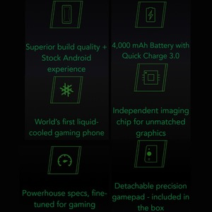 Image 3 - 글로벌 버전 샤오미 Black Shark 1 64GB ROM 6GB RAM 게임용 전화 (신규/봉인) blackshark1, blackshark Smartphone Mobil