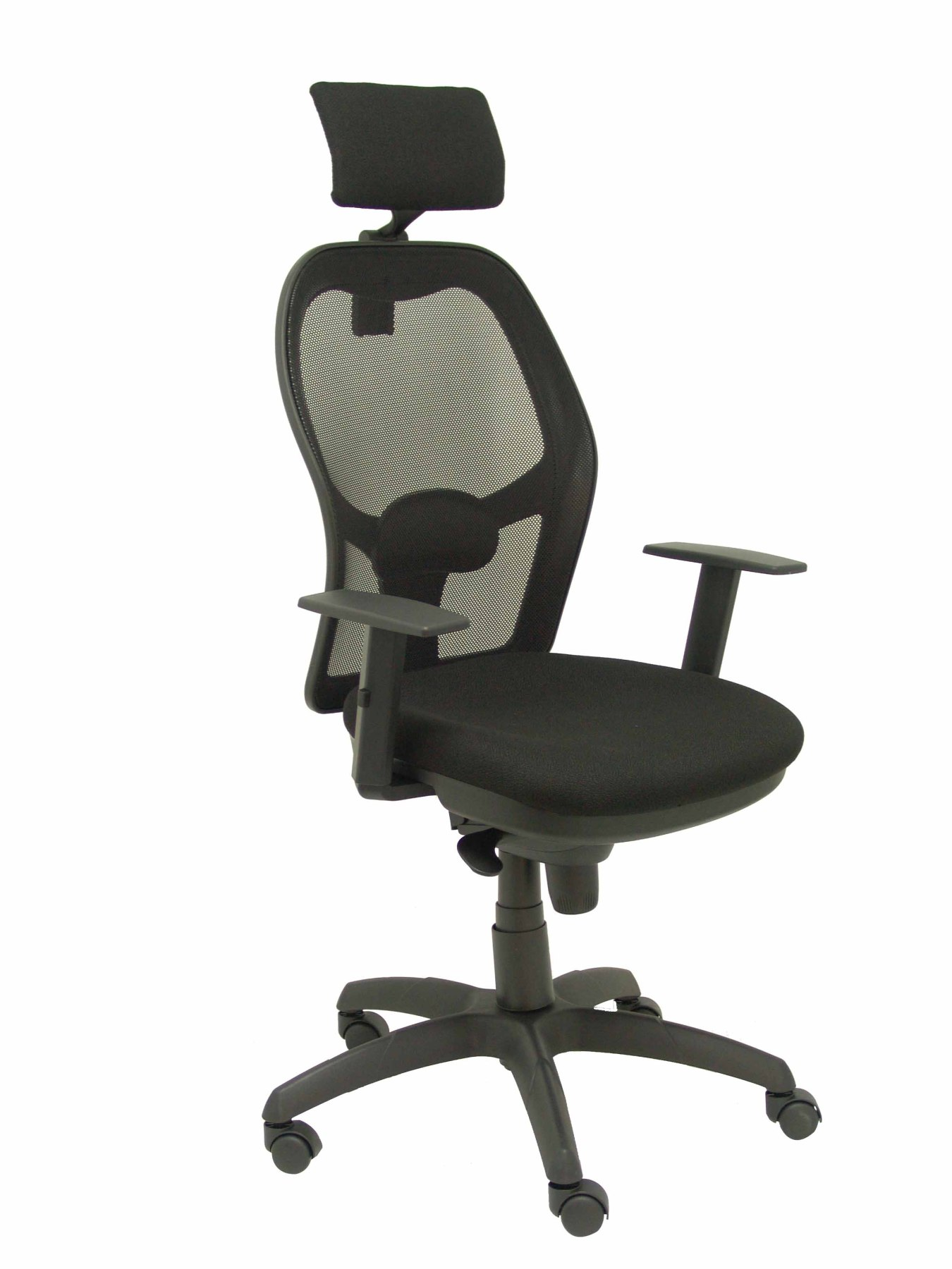 Ergonomic Office Chair With Mechanism Synchro, Arms Dimmable And Adjustable Height-Backing Mesh Sweats