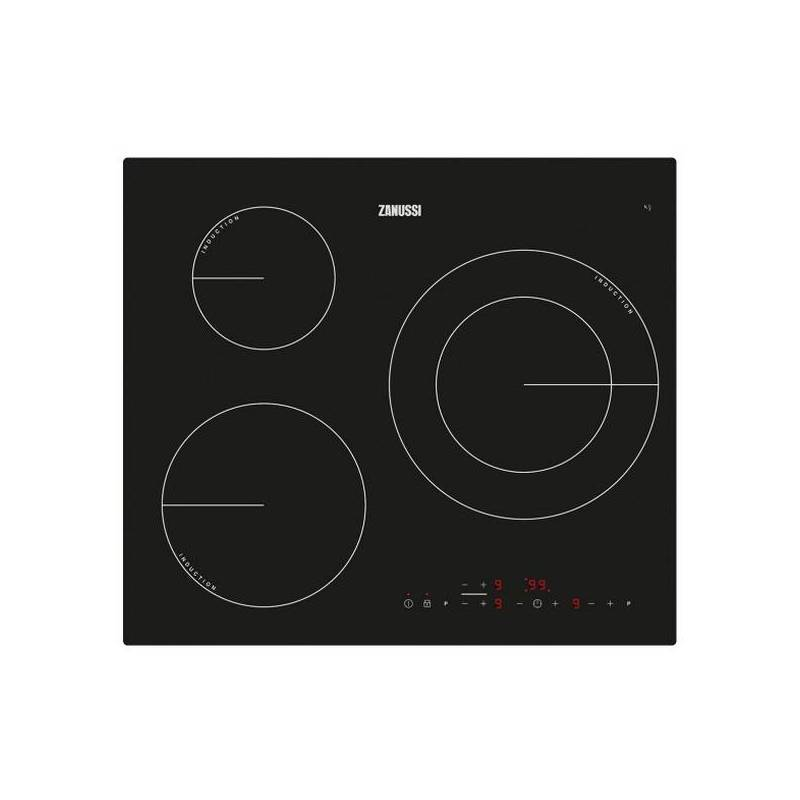 Induction Hob Zanussi ZM6233IOK 60 Cm (3 Cooking Zones)