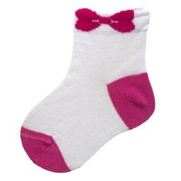 2 pairs of socks Chicco size 024 color pink and white