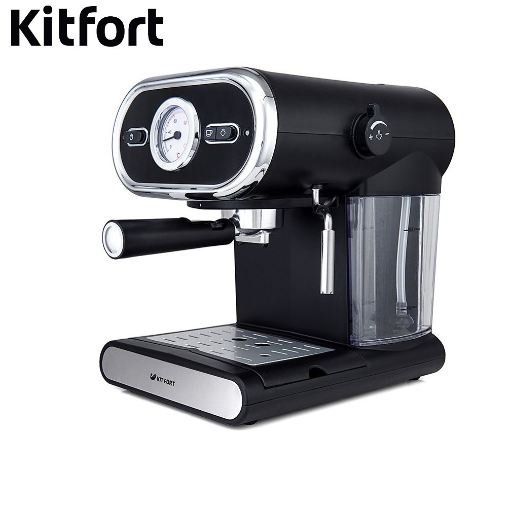 Coffee Maker Kitfort KT-702 kitchen automatic pump Coffee machine espresso Coffee Machines Coffee maker Electric coffee graphic oil proof sticker