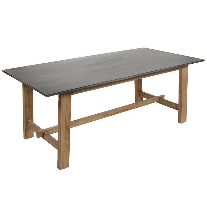 Dining Table (200x100x78 Cm) Wood Mindi Mdf