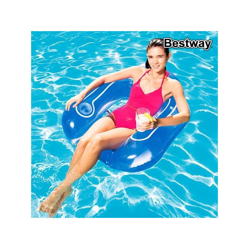 Inflatable Armchair Bestway 43097 (84x84x23 Cm)