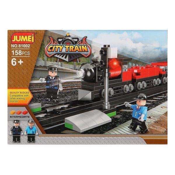 Building Blocks Game City Train 119818 (158 Pcs)