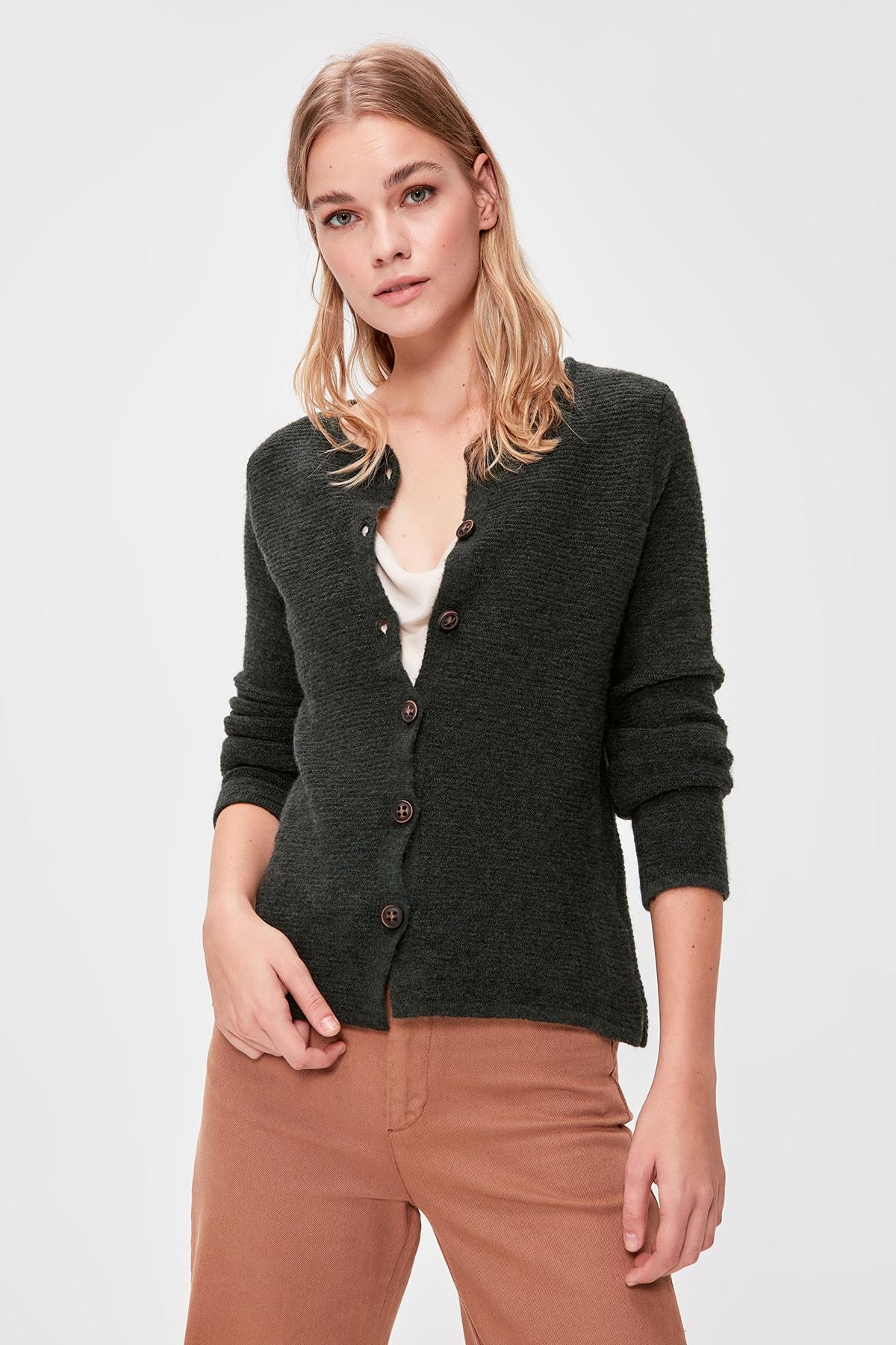 Trendyol Button Sweater Cardigan TWOAW20HI0177