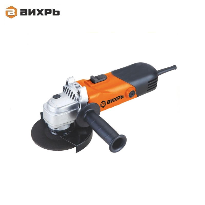 Angle grinder (bulgarian) VIHR USHM-125/1100 for grinding or cutting metal Electric portable grinder Angle drive grinder free shipping new ac 220v drive shaft electric angle grinder rotor for hitachi 180 g180se2 high quality