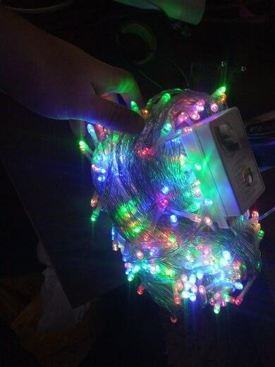 Fios de LED String Férias Decoração
