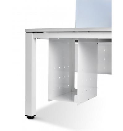 CPU SUPPORT WHITE FOR OFFICE TABLE SERIALS WORK/EXECUTIVE