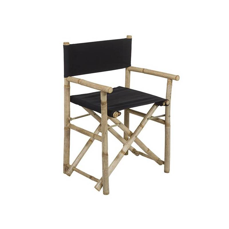 Chair (58x45x89 Cm) Black Bamboo