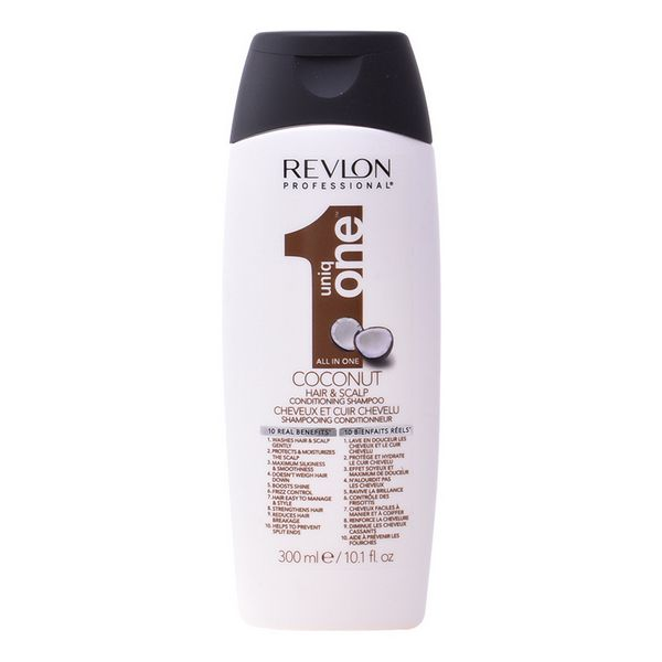 Moisturizing Shampoo Uniq One Coconut Revlon (300 Ml)