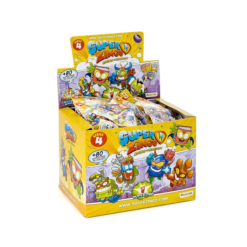 SuperZings- Onepack Serie 4 Figuras coleccionables