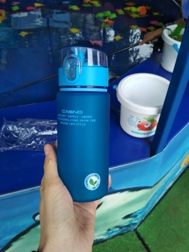 PURANKA Brand Gift Bottle 400ML 560ML Tour Outdoor Sport School Leak Proof Seal Water bottle Plastic Drinkware KXN 1114 KXN 1115-in Water Bottles from Home & Garden on AliExpress
