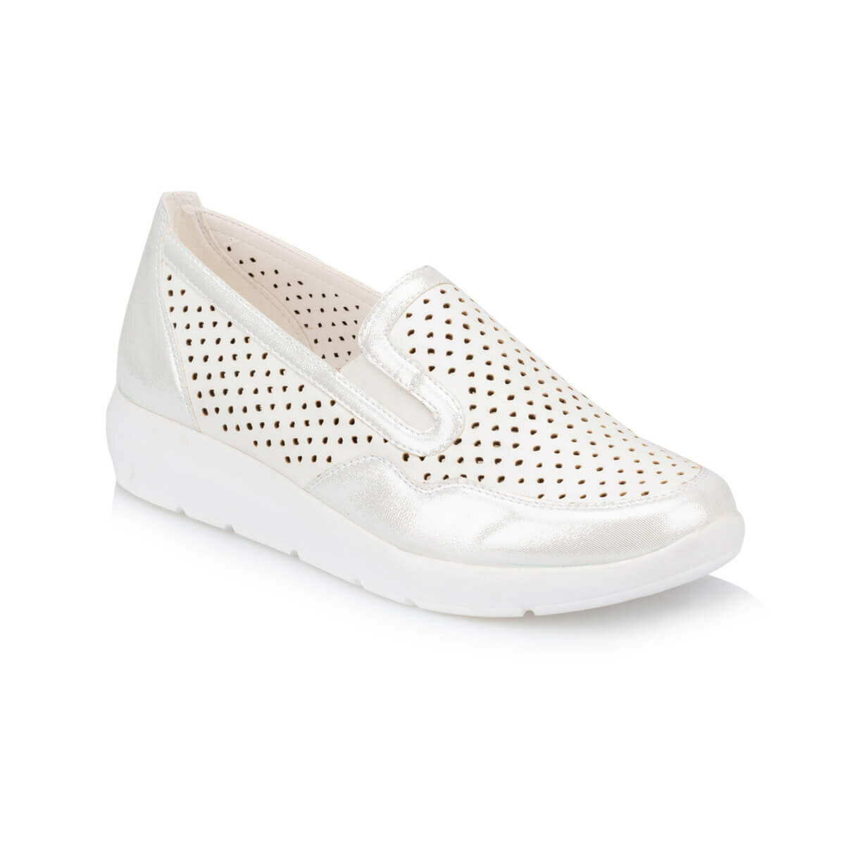 FLO TRV910027 White Women 'S Shoes Polaris