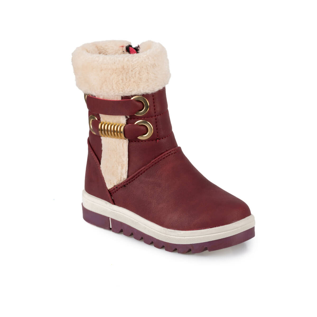 FLO SINNER 9PR Burgundy Female Child Boots KINETIX