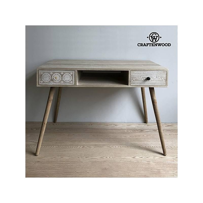 Desktop Wood Paulownia (110x55x75 Cm)