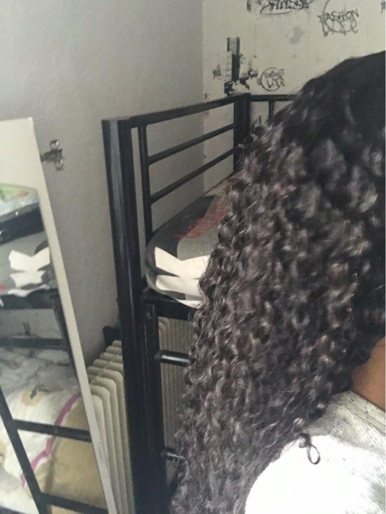 Apliques com cabelo humano Peruano Peruano Transparente