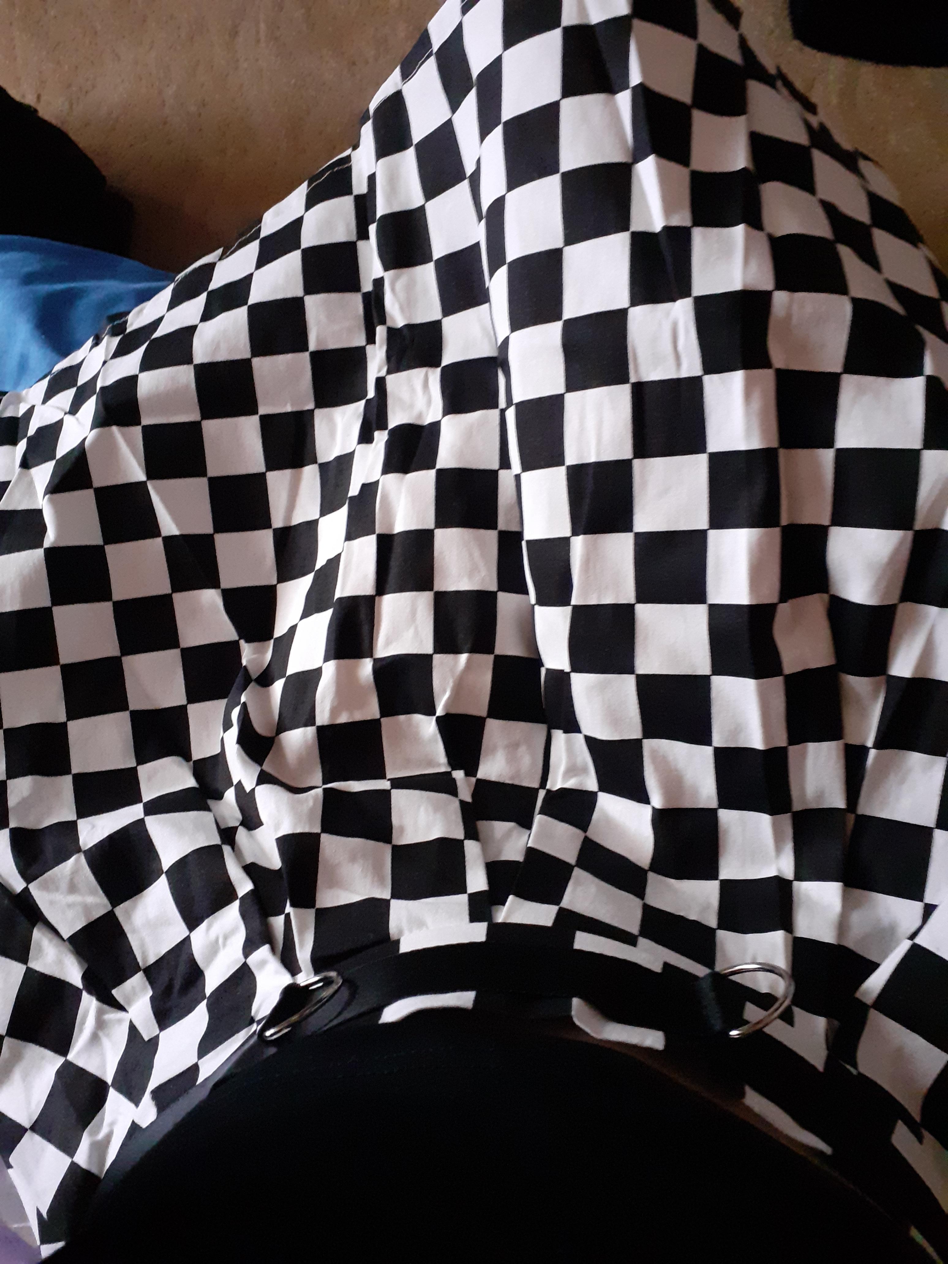 Checkered Harajuku Skirt E-girl photo review