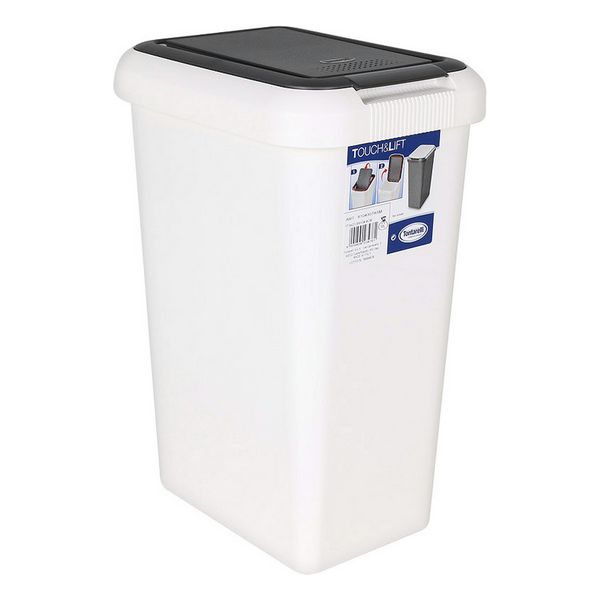 Rubbish bin Tontarelli Plastic White|Foldable Storage Bags| |  - title=
