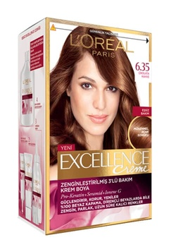 Loreal Excellence farba do włosów 6 35 kawa czekoladowa 247229130 tanie i dobre opinie